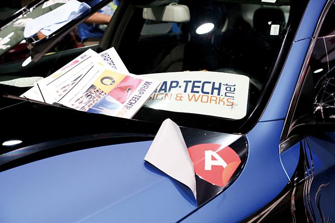 ラップテック、WRAP-TECH、アーロン・オートモーティブ・ワールド・ラップ・マニア・コンペティション、SEMA2015