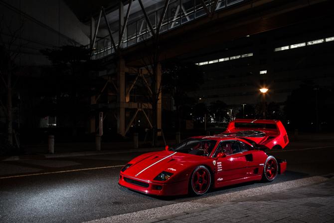1990y Ferrari F40、1990y フェラーリF40