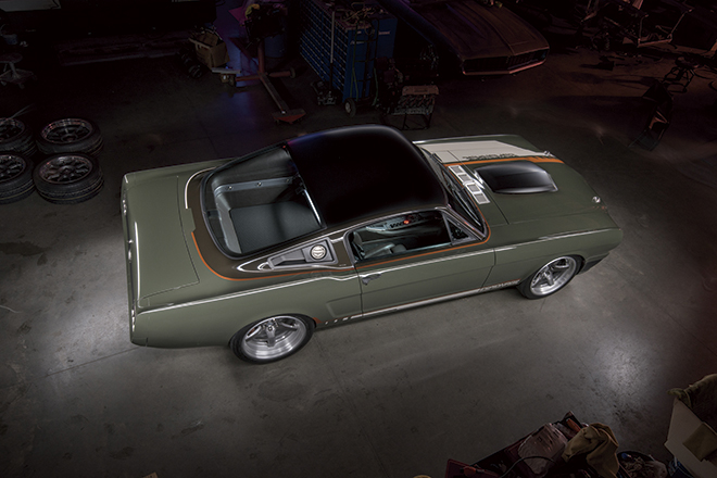 1965y Ford Mustang Wide-Body Fastback、1965年フォードマスタングファストバッグ