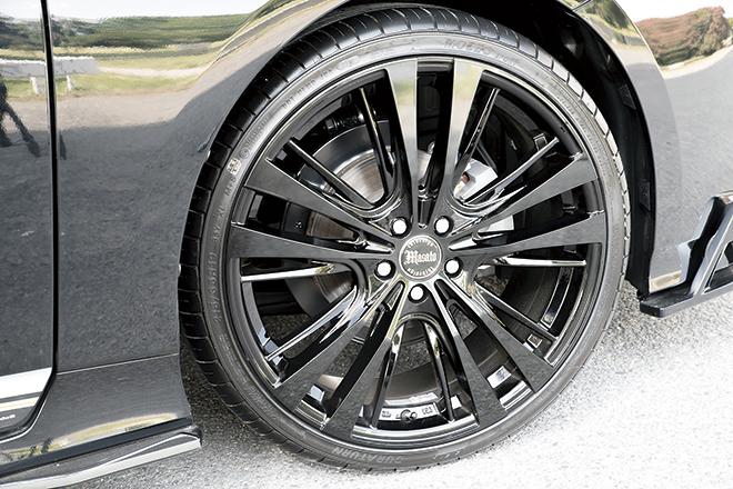 LDJデザインオリジナルの、ヴァンキッシュの19インチ×7.5Jサイズ
