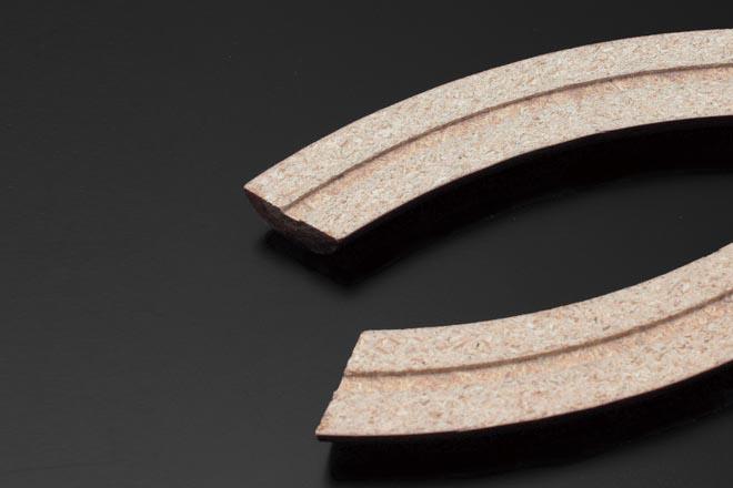 ウッドチップ圧縮材