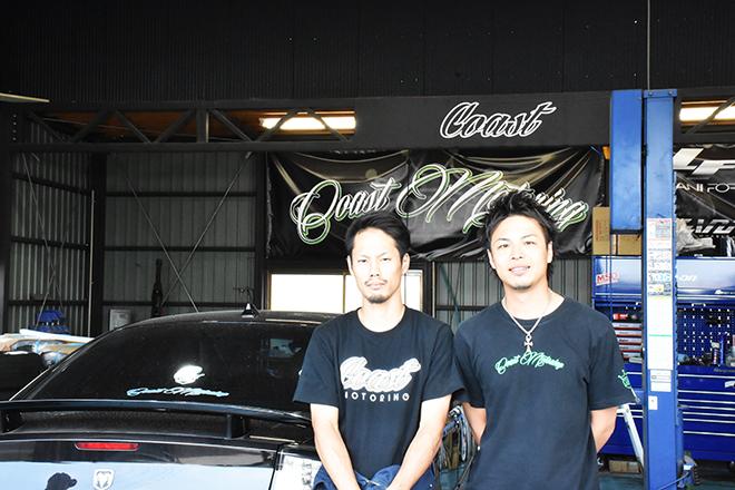 メカニック坂元さん(左) 松本代表(右)