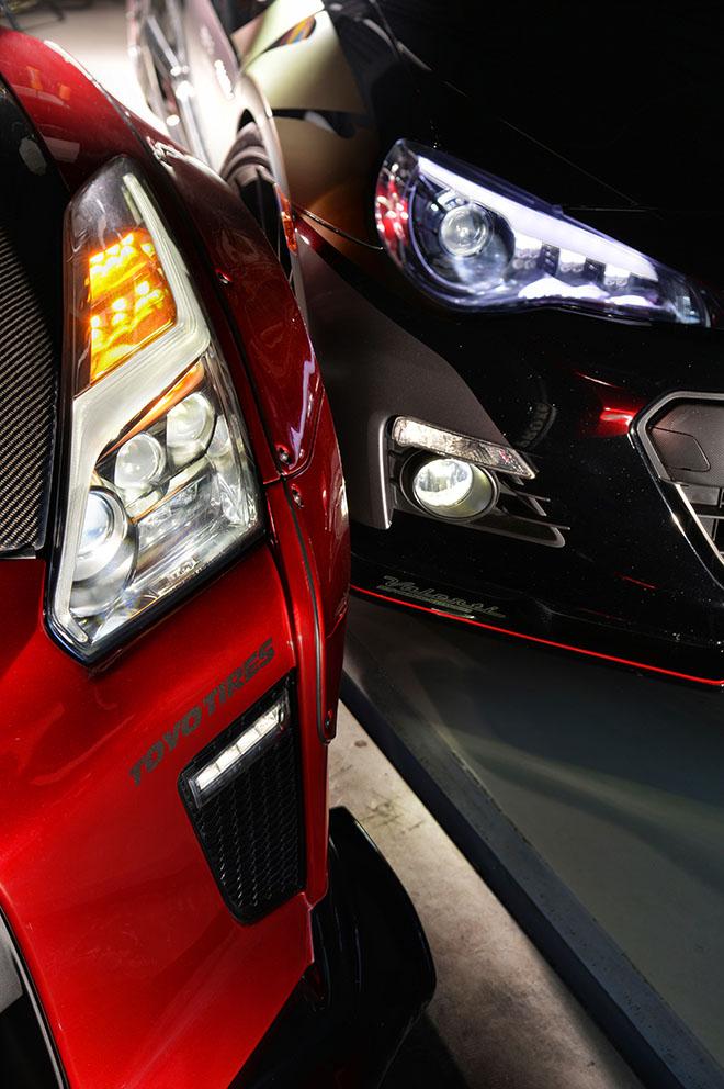 ヴァレンティジュエルシリーズ、TOYOTA86、R35 GT-R