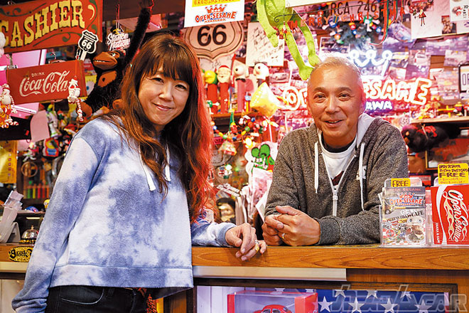 オープンセサミ 永石サンご夫妻