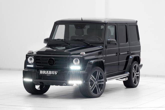 2017 BRABUS refinement for the Mercedes G 550