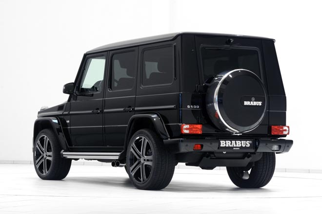 2017 BRABUS refinement for the Mercedes G550