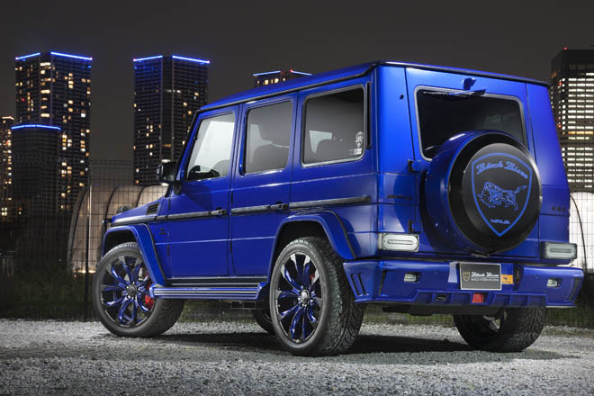 G63 AMGをベースにカスタマイズされたWALD SPORTS LINE BLACK BISON EDITION