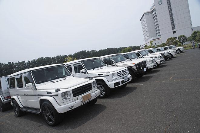 Gクラスオフ会 in 浜名湖