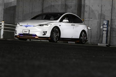Tesla Model X Produced by KOKORO