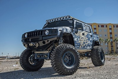 HUMMER H2 Produced by GRID