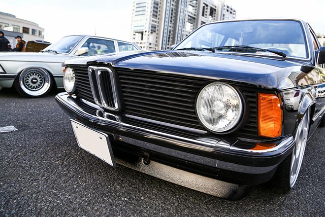 スタンスネーション2018、BMW318i、E21型、丸目2灯