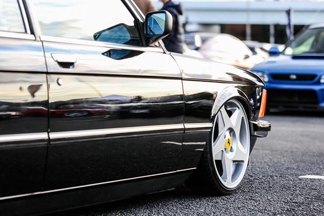 レイズホイール、BMW、348純正ホイール、RAYS、鍛造ホイール