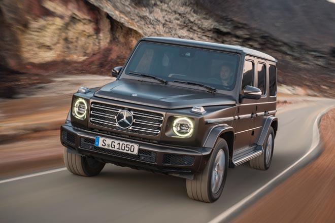 Mercedes-Benz G-Klasse、メルセデスベンツGクラス