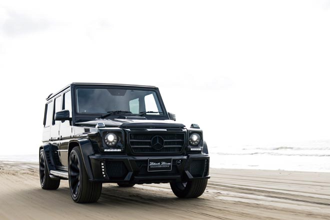 Gクラス、GCLASS、WALD、SPORTS LINE BLACK BISON EDITION