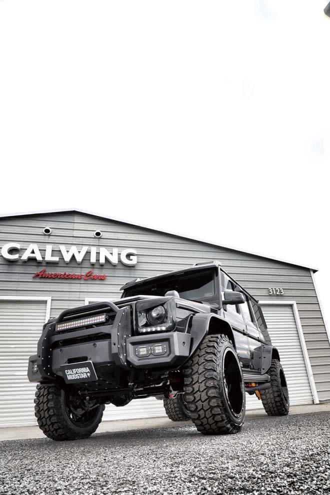 キャルウィング、G55AMG