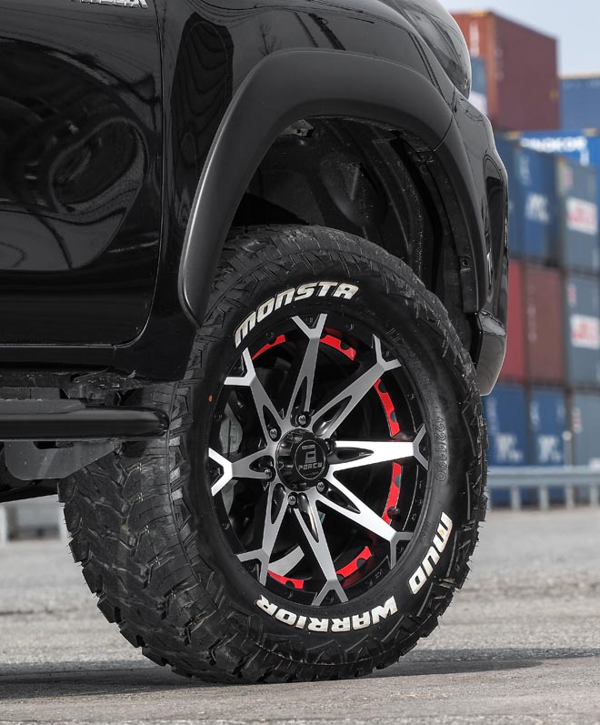 FORCE WHEELS DENALI Produced by hazard