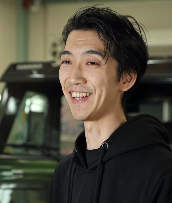 『WRAP-TECH』の仕掛け人がこの方、石黒達也さん。