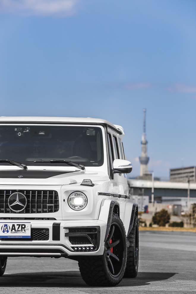 Mercedes-AMG G63、AMG G63、アズールモータリング
