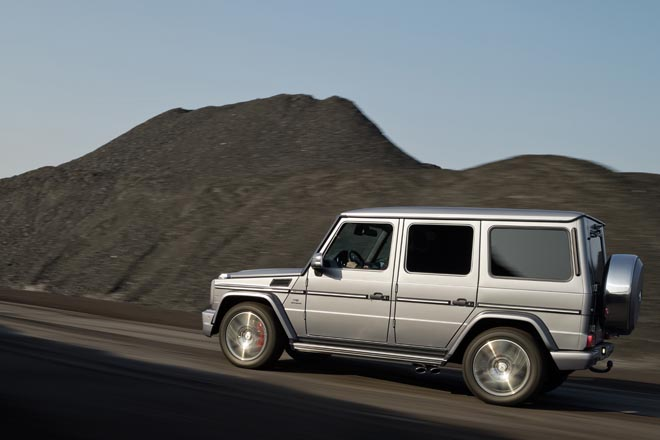Mercedes-Benz G-Klasse, G 63 AMG, Exterieur Mercedes-Benz G-Class, G 63 AMG, exterior