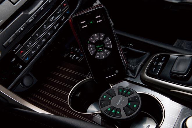 コントローラーは iPhoneが担当。今はアンドロイドでもコントロール可能