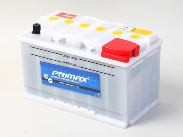 プリマックス、バッテリー