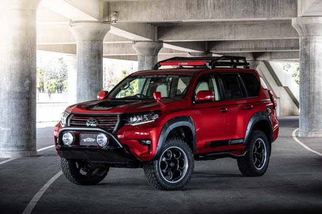 TOYOTA LANDCRUISER PRADO KADDIS AR4 Produced by ROAD HOUSE