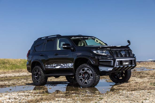 TOYOTA LANDCRUISER PRADO CLIMATE BODYKIT Produced by CLIMATE