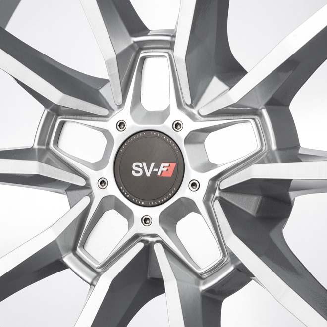 SAVINI SV-F1 ブラッシュドシルバー